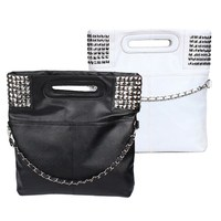 Lady Girls Fashion Korean Style PU Leather Hobo Handbag Shoulder Bag