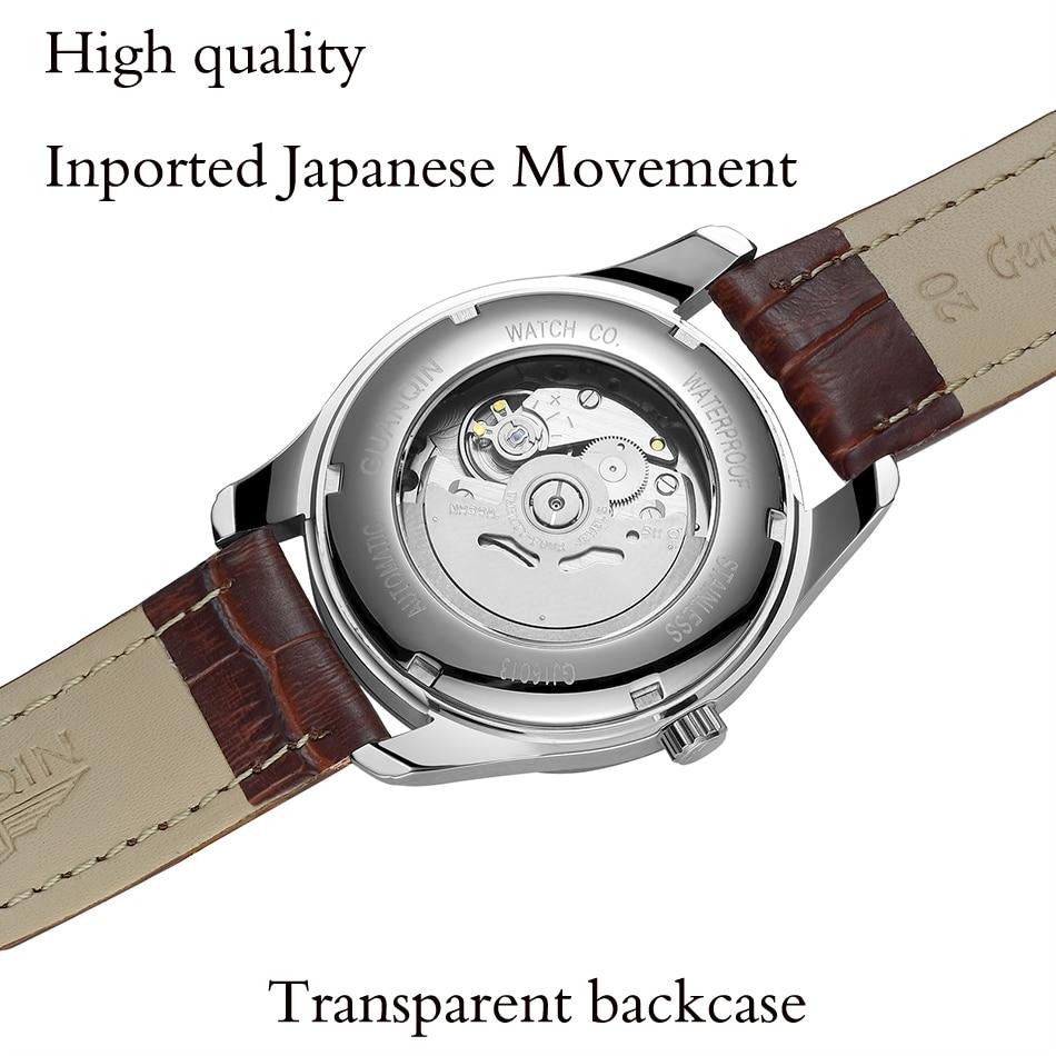 CARNIVAL Blue ручной многофункциональный автоматические мужские механические часы дорогие, брендовые деловые часы StainlessSteel Case Sport relogio - 5