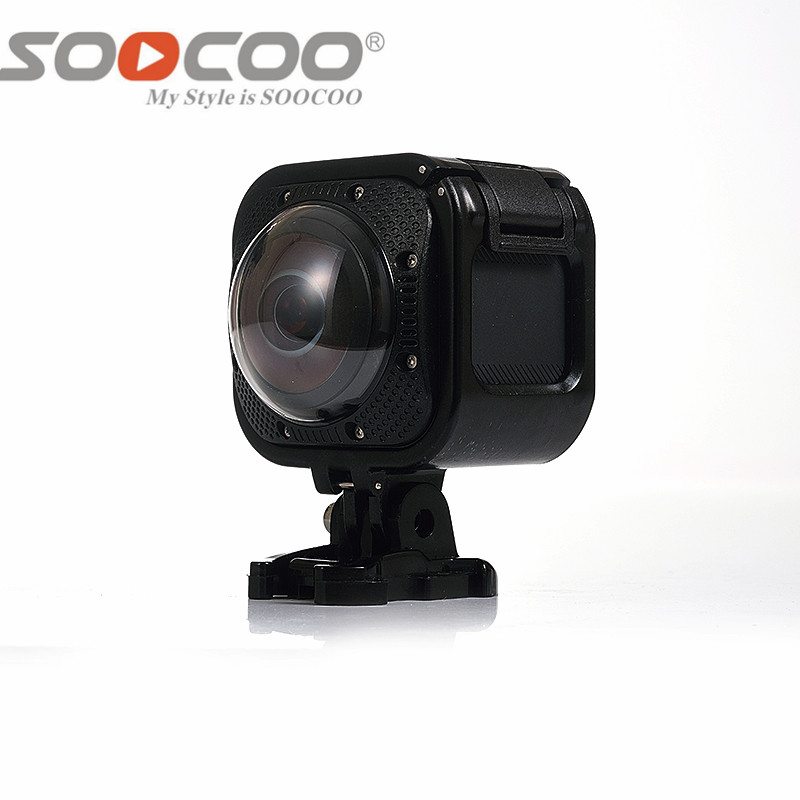DHL SOOCOO 360F UHD 4K Action Camera Wifi 1080P/30fps 20M Underwater Waterproof Camera B ...