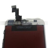черный белый полный жк для айфон 5s с сенсорным экраном замены дигитайзер ассамблеи
