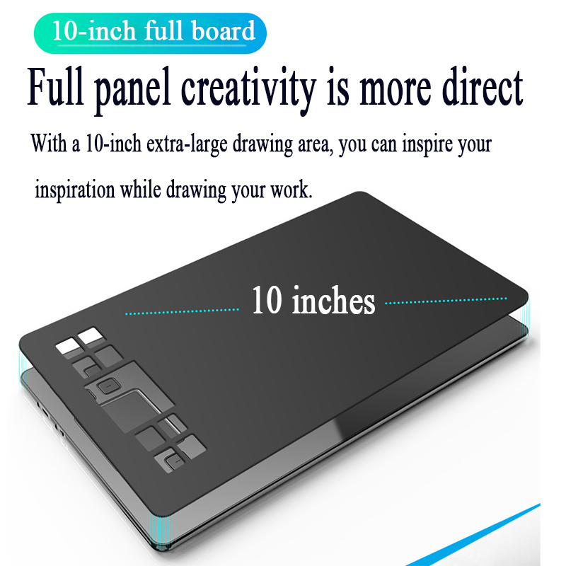 VEIKK A50 8192 Levels 10x6 inch Smart Graphic Drawing Tablet Digital Pad Drawing Digital Painting Board 10x6