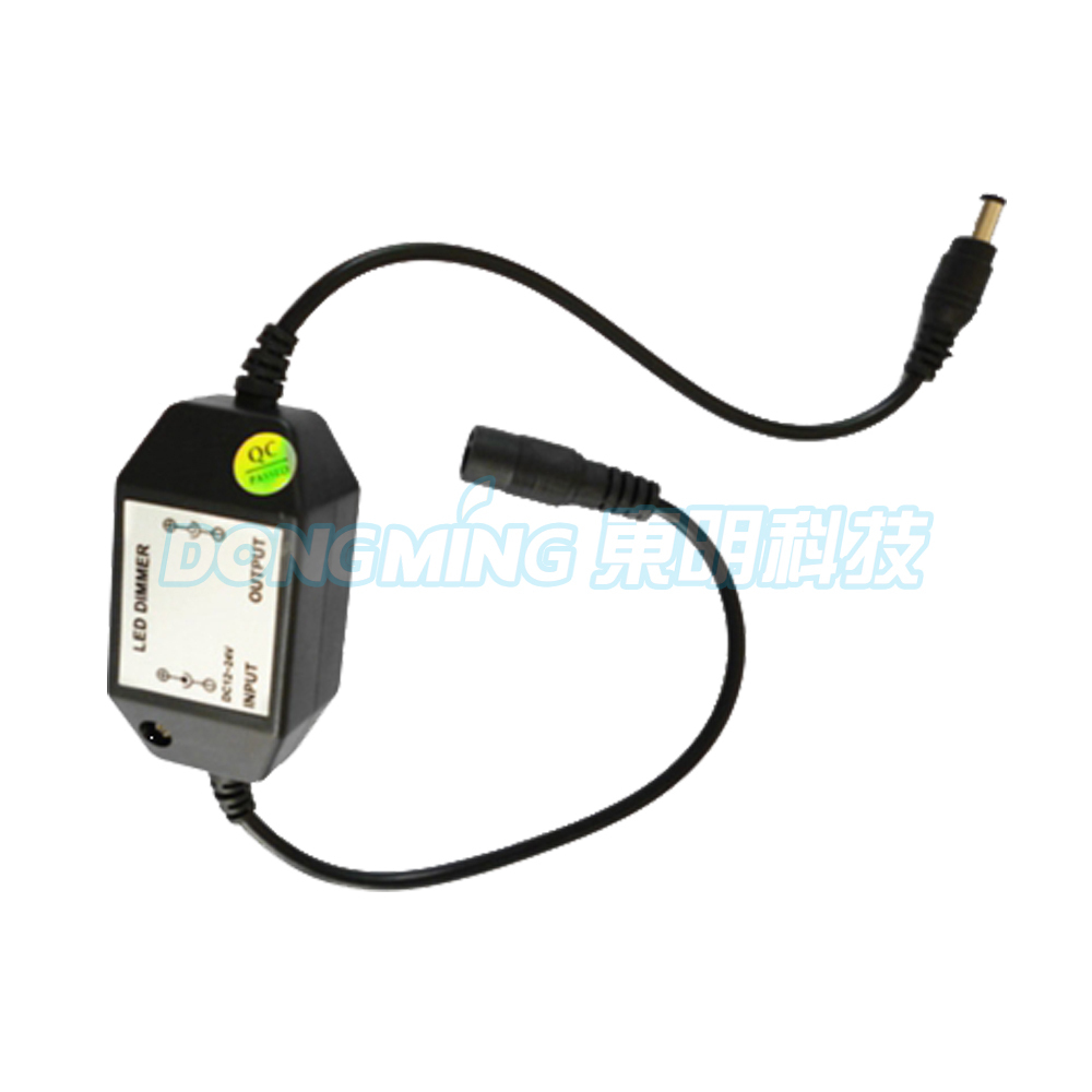 Dimmers Buy Cheap 5pcs Mini Led Brightness Adjust Switch Dimmer Controller For 3528 5050 5630 Single Color Led Strip Light Led Dimmer 12v,24v