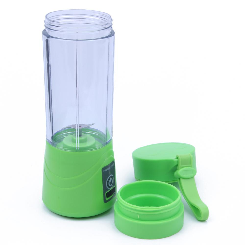 380ml USB Rechargeable Blender Mixer Portable Mini Juicer Juice Machine Smoothie Maker Household Small Juice Extractor New Drop