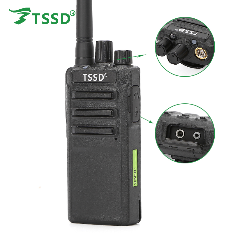 Newest TSSD 400-470 UHF Two Way Radio For Security Guard Equipment TS-K88