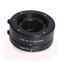 Seafrogs Auto Focus Macro Extention Tube for Panasonic  Mount 10mm 16mm Set Metal