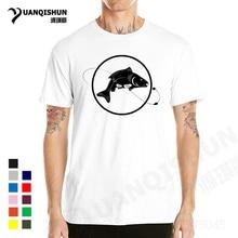 YUANQISHUN 2017 New Angling T-shirt Fish Bait Carp Angling Funny T Shirt New Fashion Men'S Tshirt Holiday Comfort Tops Tee 3XL