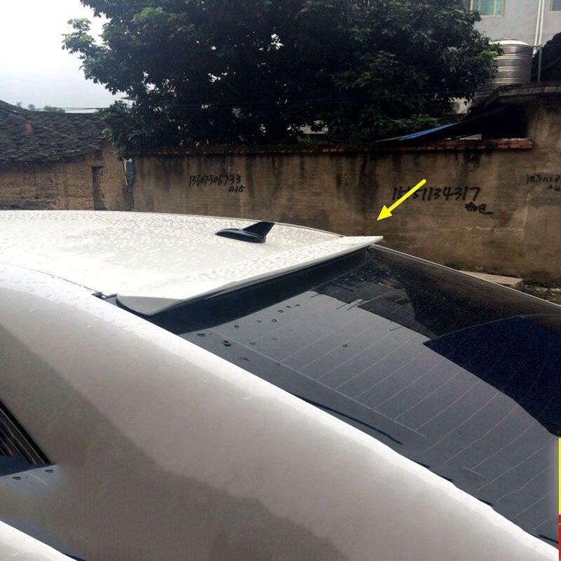 MONTFORD ABS Пластик Неокрашенный Грунтовка задний спойлер на крыше хвост багажнике крыло для Toyota Camry 2012 2013 2014 2015 автомобиля стиль