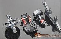 FID ЧПУ сплава дистанционного один ключ системы обратного для Losi 5IVE T 5 т Losi Mini ВКР 1/5 RC автомобилей газа