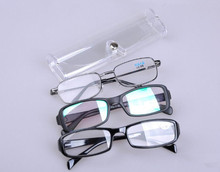 10pcs Portable Oval Hard Case Glasses Package Sunglasses Storage Box Magnetic Closure fashion pen storage box free shipping цена 2017