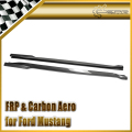 Car-styling For Ford 2015 Mustang SU Style Carbon Fiber Side Skirt Extension In Stock