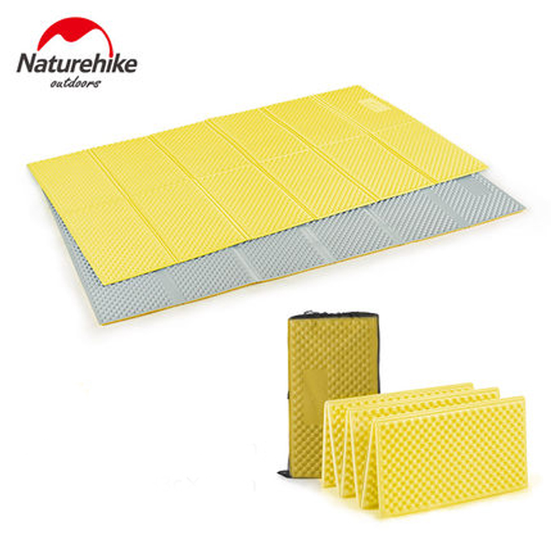 Naturehike Camping Mat Foldable Ultralight Moistureproof Picnic Mat Beach Sleeping Pad Moistureproof Camping Mattress цены