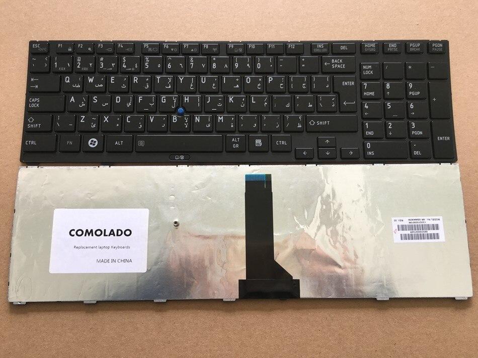 AR Arabic keyboard For TOSHIBA FOR Tecra R850 R950 R960 With Point Laptop Keyboard AR Layout