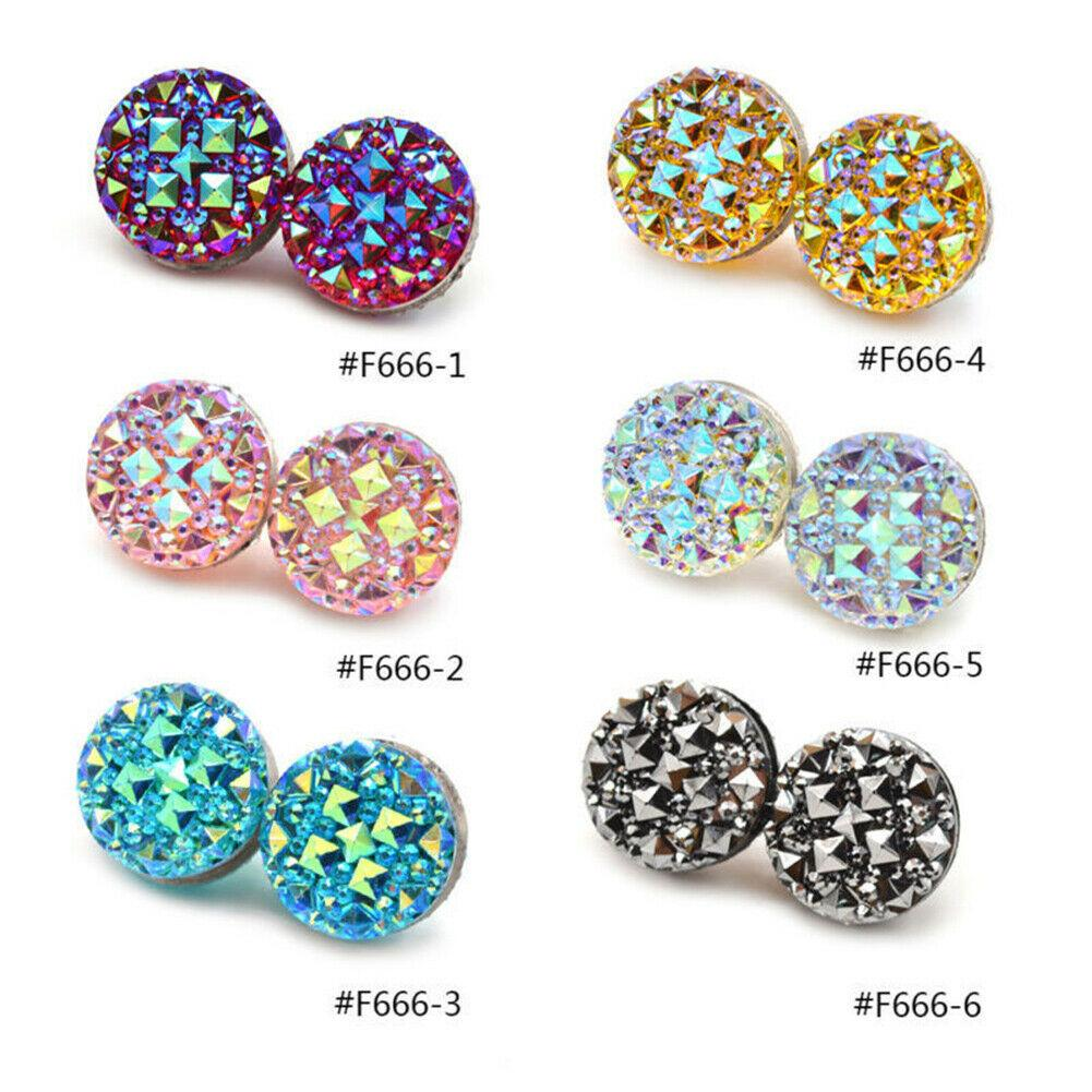 1pcs Muslim Round Magnet Brooch Pins Clasp Hijab Scarf Abaya Clothes Jewelry Badge on Backpack Brooch Pins for women girls gift