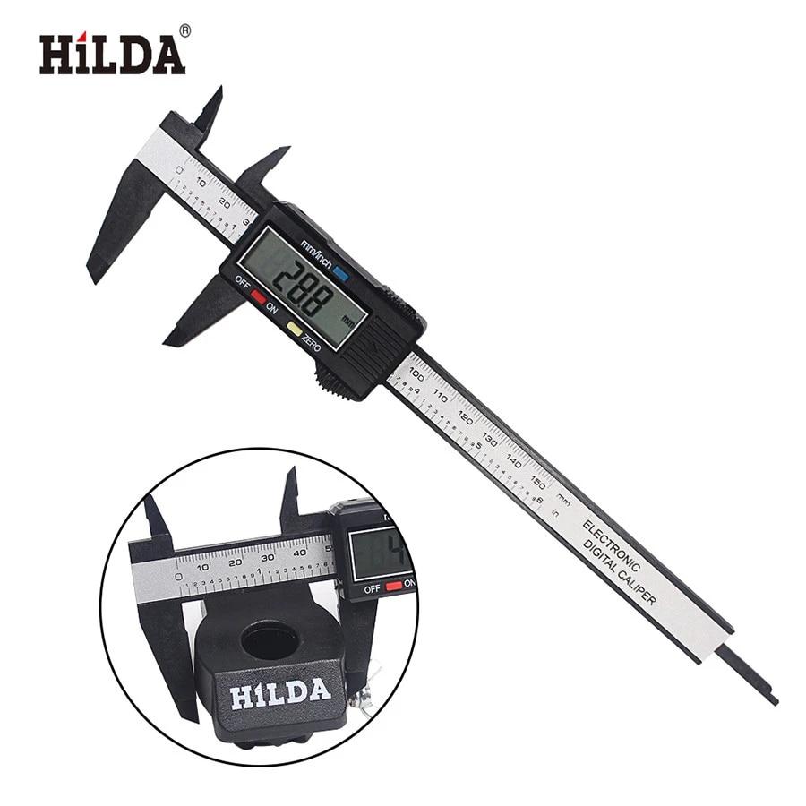 "6/"" 150mm Electronic Digital Vernier Caliper Micrometer Guage LCD"