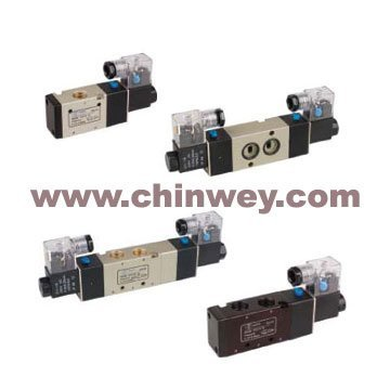 "G1/4"" 5/2 4V330C-08 Solenoid Valve,(double head,double position,close type)"