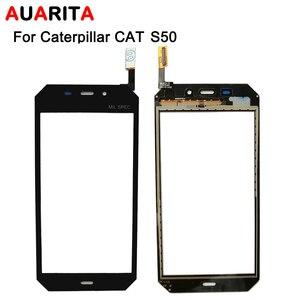 Image 4 - 5 teile/los touch Für Caterpillar cat S30 S40 S50 S60 B15 B15Q S50C Touchscreen Perfekte Reparatur Teile Touch Panel telefon Zubehör