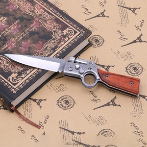 Taktische Faltende Messer Überleben Jagd Camping Tasche Messer Mit LED Neue
