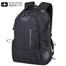 Summer 2019 Double Shoulder Backpack Multi-functional Large Capacity Outdoor Oxford Cloths Leisure Burglary