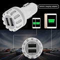 New Wireless Bluetooth V4.1 2.1A Dual USB 2-port USB Universal Mini Car Charger Adapter For iPhone For Samsung