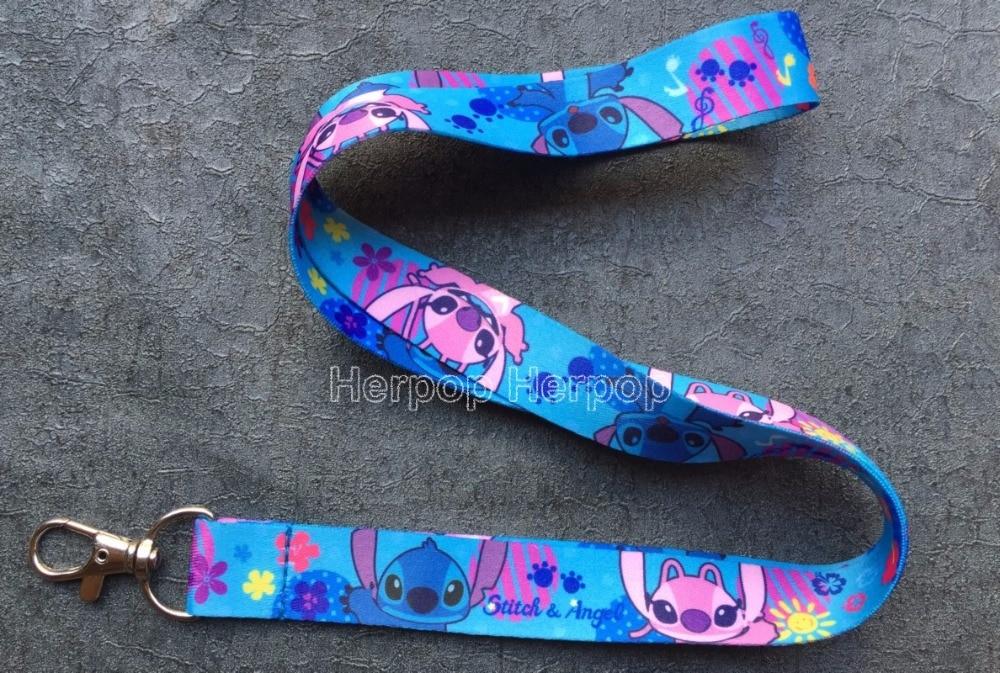 1pcs anime Mermaid Princess Neck Strap Lanyard ID Badge Mobile Phone Charms