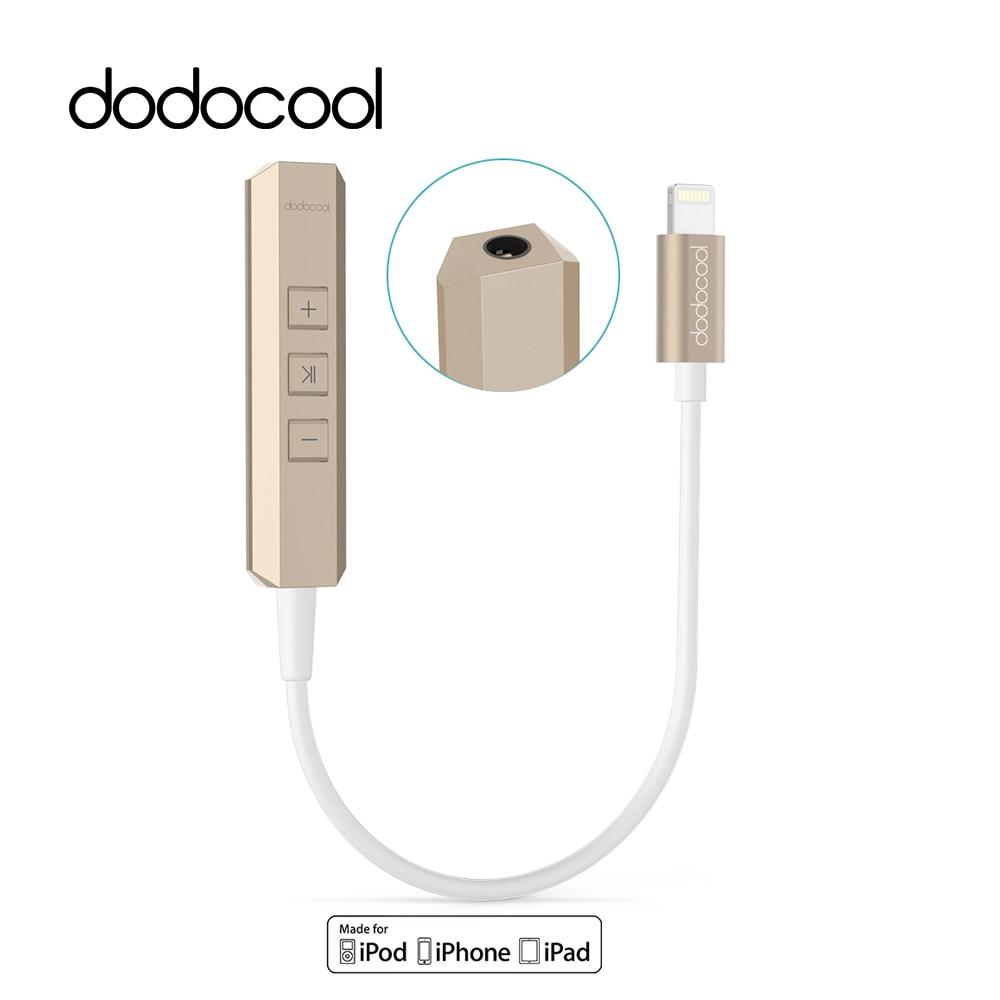 dodocool MFi Certified Lightning to 3.5mm Earphone Audio