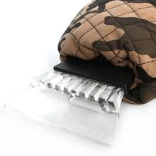 Premium Ice Scraper Waterproof Soft Mitt