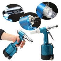 1/4 Pneumatic Air Hydraulic Pop Rivet Gun Riveter Riveting Garage Tool w/Wrench FREE SHIP