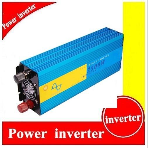 цена на 2500W onduleur solaire hybride Factory Sell DC12v-AC220v 2500W Solar Inverter/ Car Inverter /Home Inverter, Pure Sine Wave
