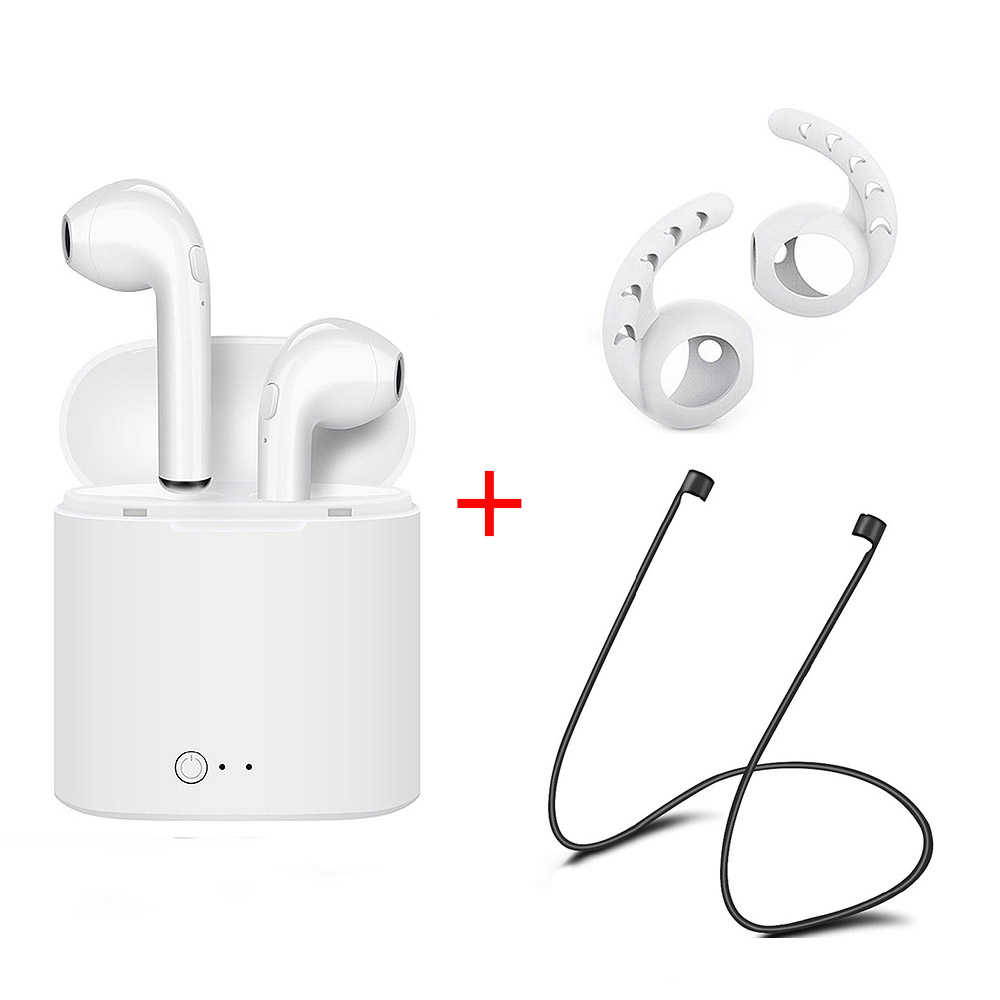 For apple Airpro Earpods I7S TWS I8 Earbuds Wireles Bluetooth in ear Earphones Twins Earpieces Headset for IPhone X 8 8 Plus