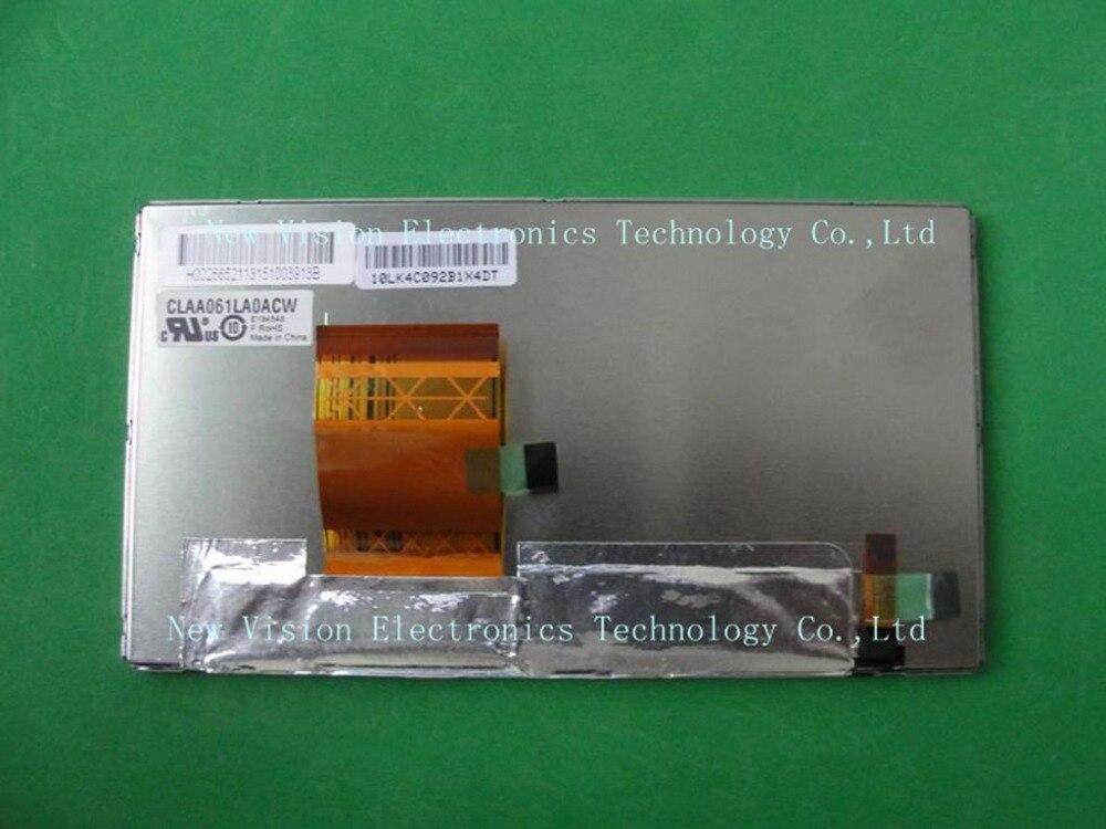Original 6 1 TFT LED Display CLAA061LA0ACW CLAA061LA0HCW LCD Module for Toyota Gracenote HD Radio W