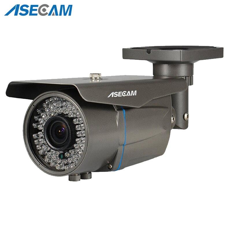 5MP Full HD CCTV Zoom 2.8 ~ 12mm lentille sécurité varifocale AHD caméra 78 * LED infrarouge extérieur étanche caméra de Surveillance de balle