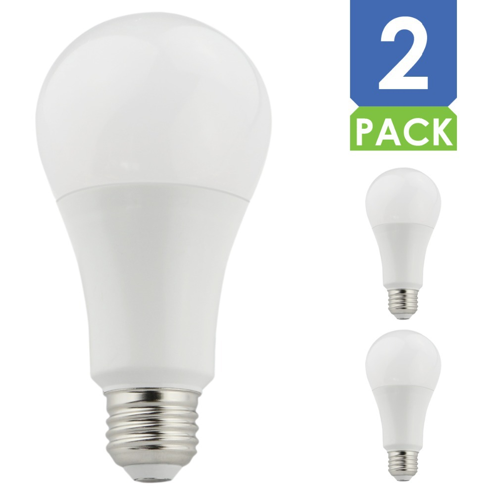 2pcs 13w A21 Led Light Bulbs 5000k Daylight 120v Dimmable Led Lamp