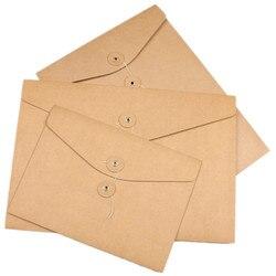 20 sztuk puste A4 A5 koperta  pionowe kraft jest twój plik koperta poziome papieru organizator do torby dokument wyświetlacz foldery z kieszeniami