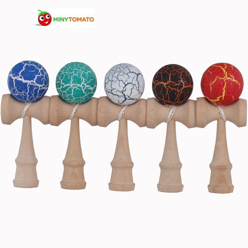 Envío libre kendama bola cuerdas profesional Japón japonés juguete aproximadamente 18.5 o 19 cm bola kendama deportes del ocio