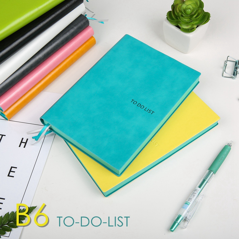 to do list notebooks B6 time planners schedule notepad agenda 2017 diary Organizer Cute journal Stationery Store office supplies