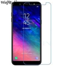 2PCS For Screen Protector Samsung A7 2018 Glass 9H Hardness Tempered Glass For Samsung Galaxy A7 2018 Celular Film SM-A750F 6.0″
