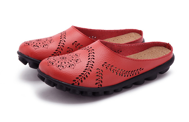 XY 991 Cut Outs Women's Summer Flats Shoes -29