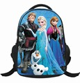 Elsa Anna Backpack Children School Backpacks Cartoon Student Bag Girl Kids Princess 16'' Schoolbag for Girls