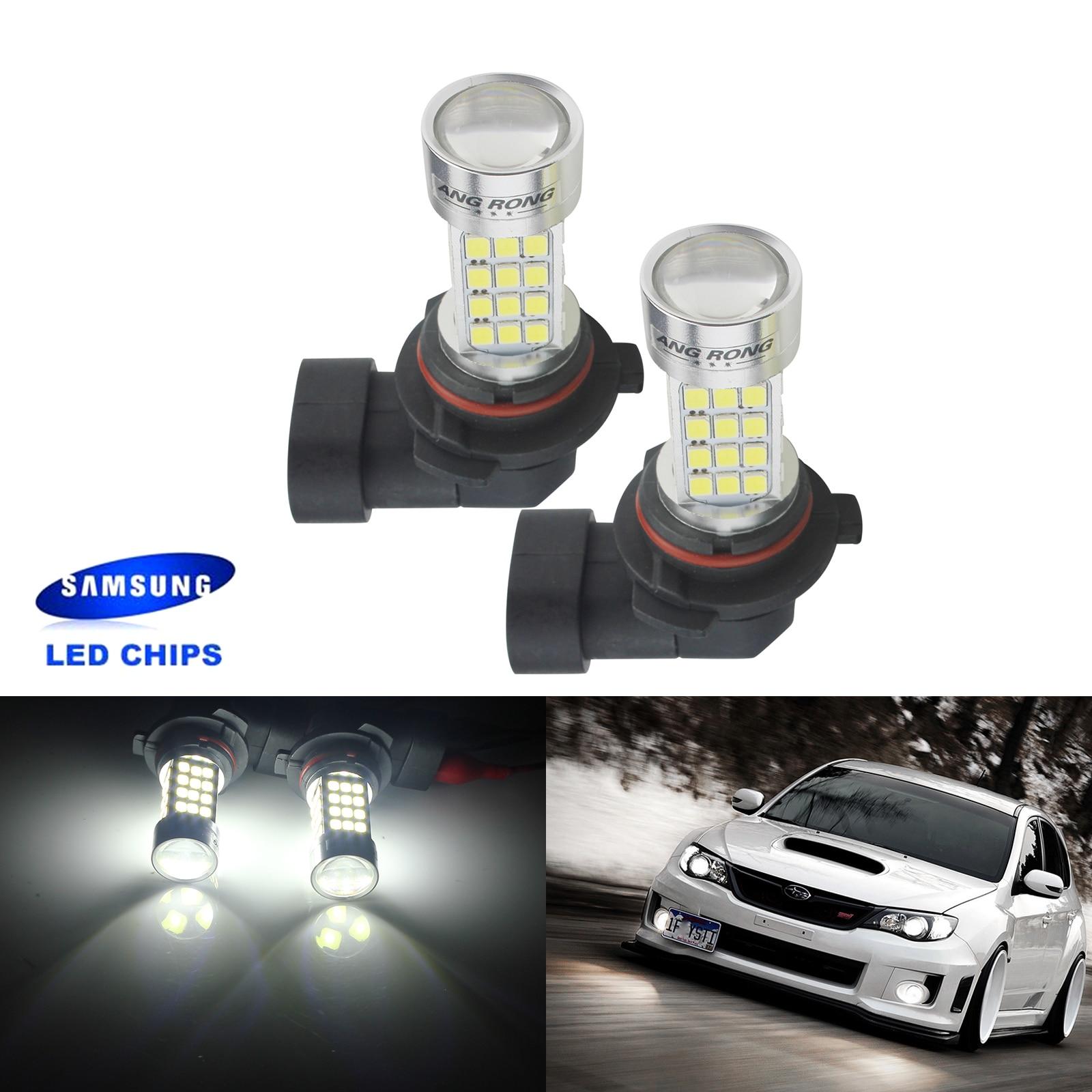 2x White HB4 9006 Led Bulbs High Power 50W Fog Driving Light DRL Lamp Bulb