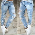 Women jeans New style Sexy girl Hole jeans boyfriend jeans for women ripped jeans for women american apparel