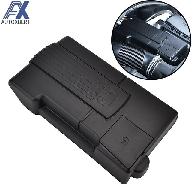 AX Car Engine Battery Protection Cap Cover For Skoda Karoq Octavia Mk3 Superb Positive Negative Battery Anode Electrode Shell