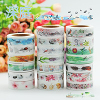 Japanese Stationery Party Gifting Spring Planner 2018 Gorgeous Watercolor Painted Kittens Animal Cat Washi Tape Set