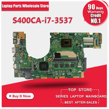 for asus s400c s500c S400CA S500CA MAIN BOARD original motherboard with i7 3537 CPU s400ca rev
