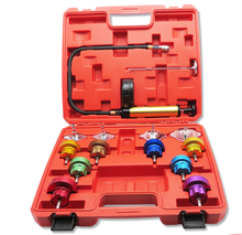 14PCS Car Tool Universal Water Tank Detector Radiator Cooling SYSTEM Pressure Tester Kit Auto Repair Tool
