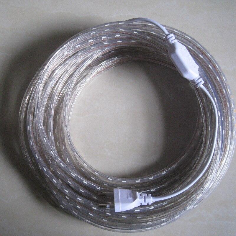 led strip flexible light SMD 3528 2835 220V 60led m Waterproof 1M 2M 3M 4M 5M