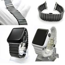 2016 Высокое Качество Новые Керамические Ремешок Группа для Apple Watch 38 мм 42 мм с Адаптером