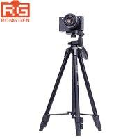 Yunteng 520 Camera digital video camera Tripod for camera for canon nikon sony Professional tripod aluminum alloy material