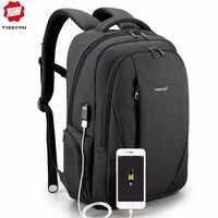 Tigernu USB Wasserdichte Anti Theft Rucksäcke für Männer 15,6 zoll Laptop Männlichen Rucksack für Reise Schule Taschen für Teenager Mochila