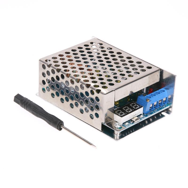 1pc 10A 300W High Power Adjustable DC-DC Step-Down Voltage Converter Regulator Power Supply Module +1pcs Screwdriver nc dc dc dc adjustable voltage regulator module integrated voltage meter 8a voltage stabilized power supply