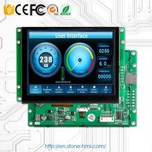 3.5 lcm display serial HMI MCU for environment equipment lcm csvh